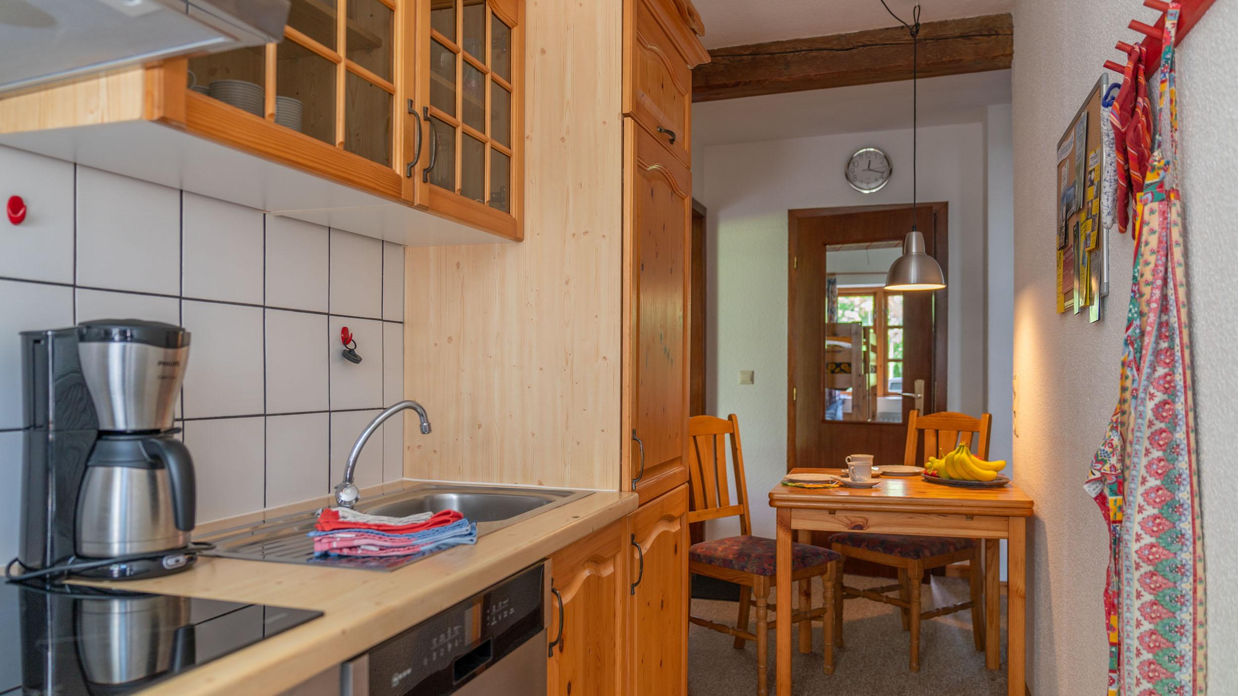 Haus Vogelkiek - Ferienwohnung Eiderente - Küche