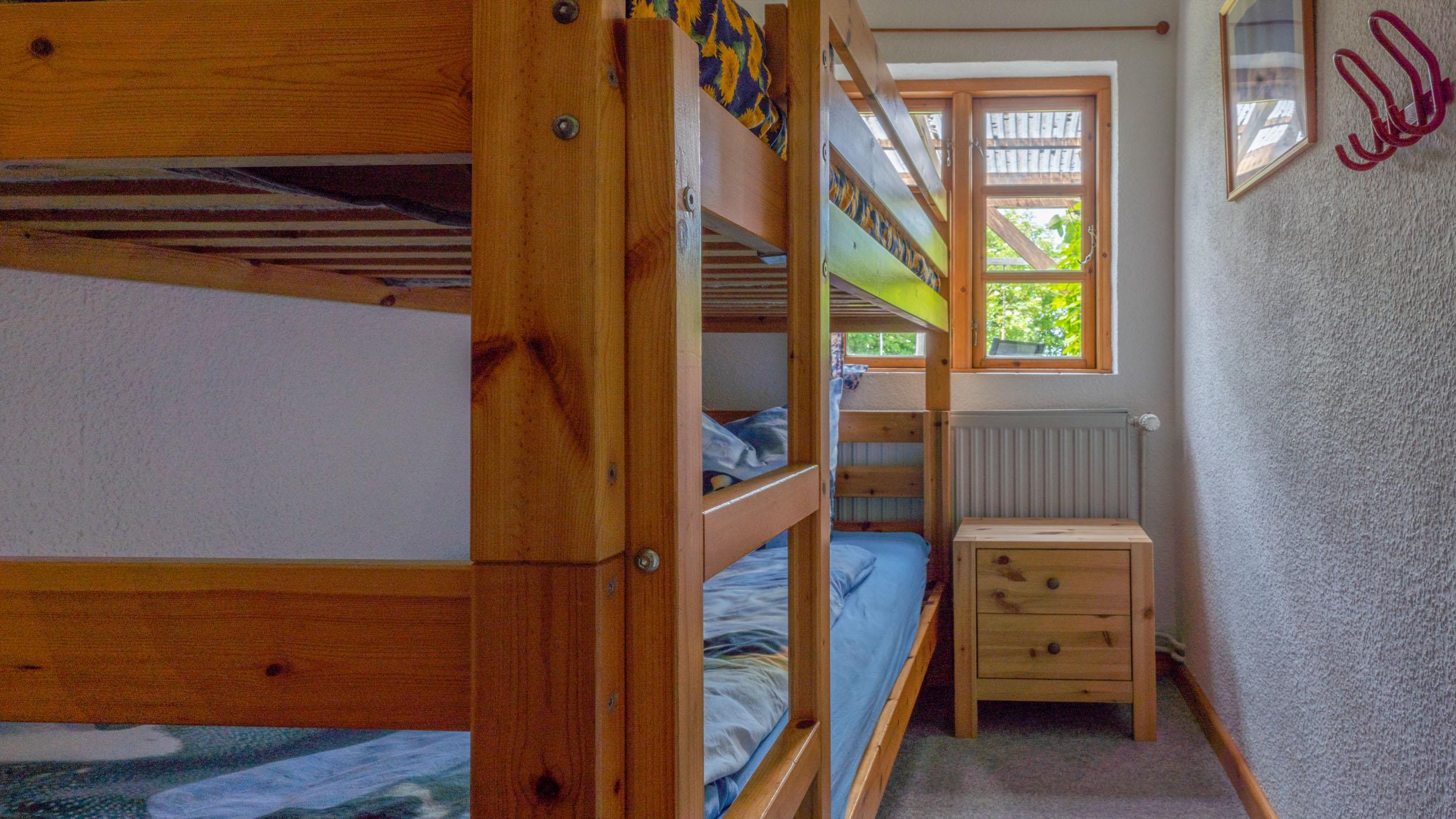 Haus Vogelkiek - Ferienwohnung Eiderente - Kinderzimmer