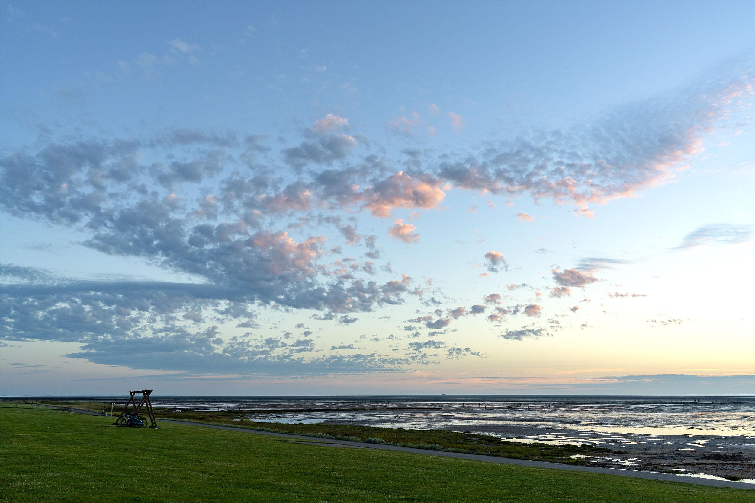 Fuhlehörn Wolken im Abendlicht