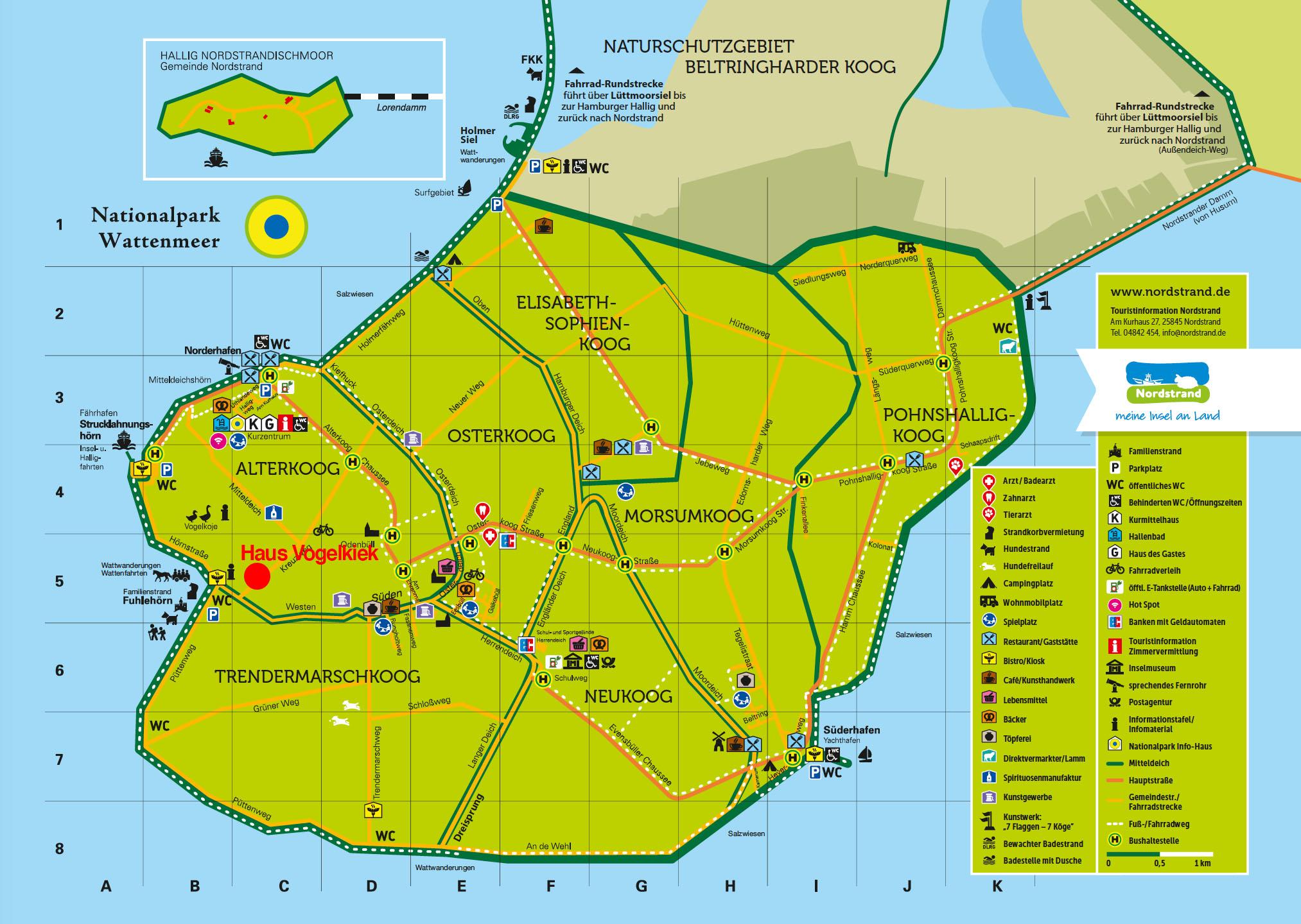 Nordstrand-Karte