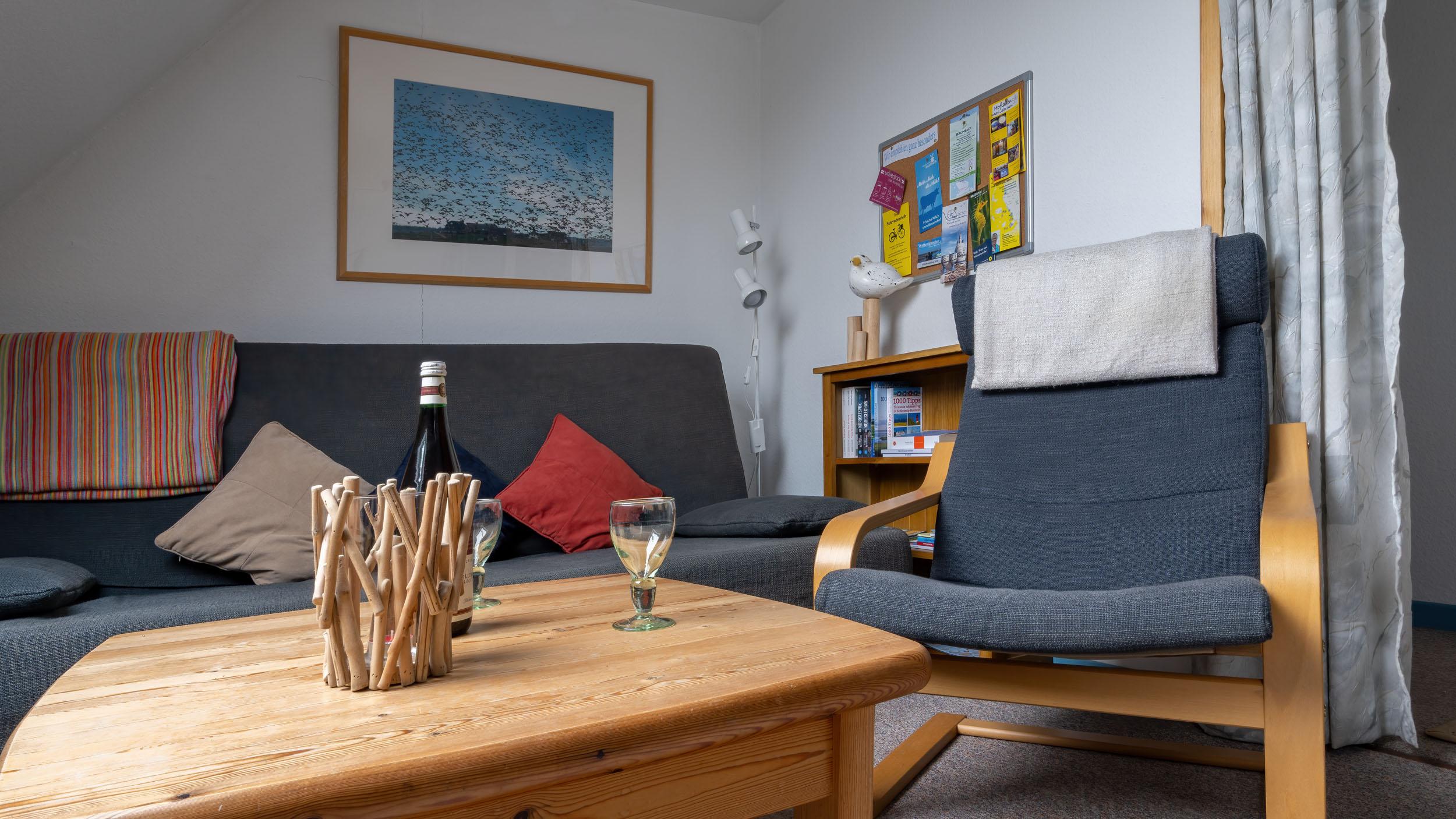 Silbermöwe-Wohnzimmer